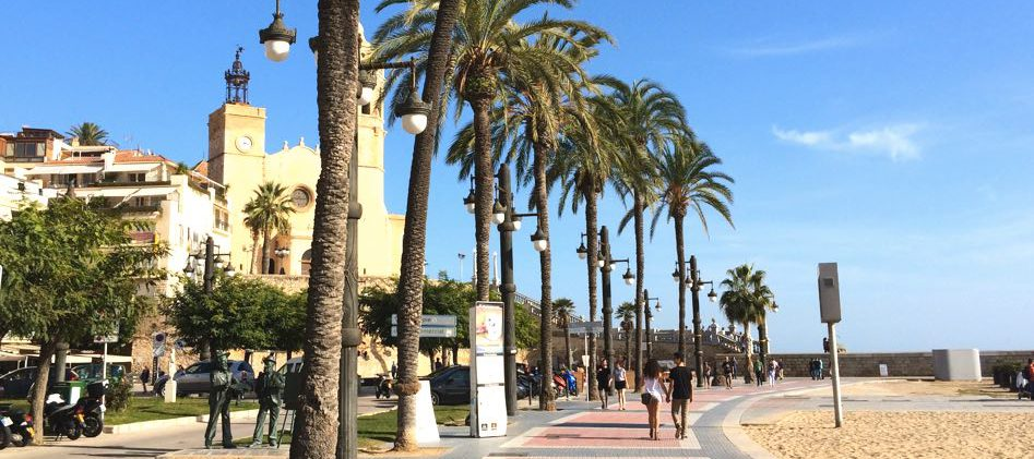 Sitges Promenade