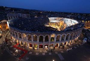 The Roman Arena in Verona