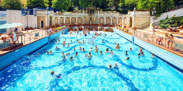 Gellert Outdoor Budapest Baths