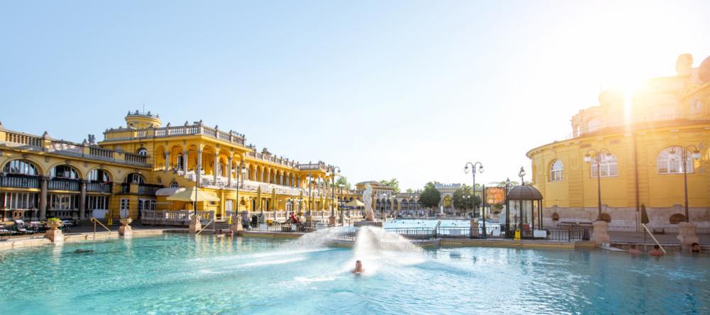 Szechenyi Baths in Budapest