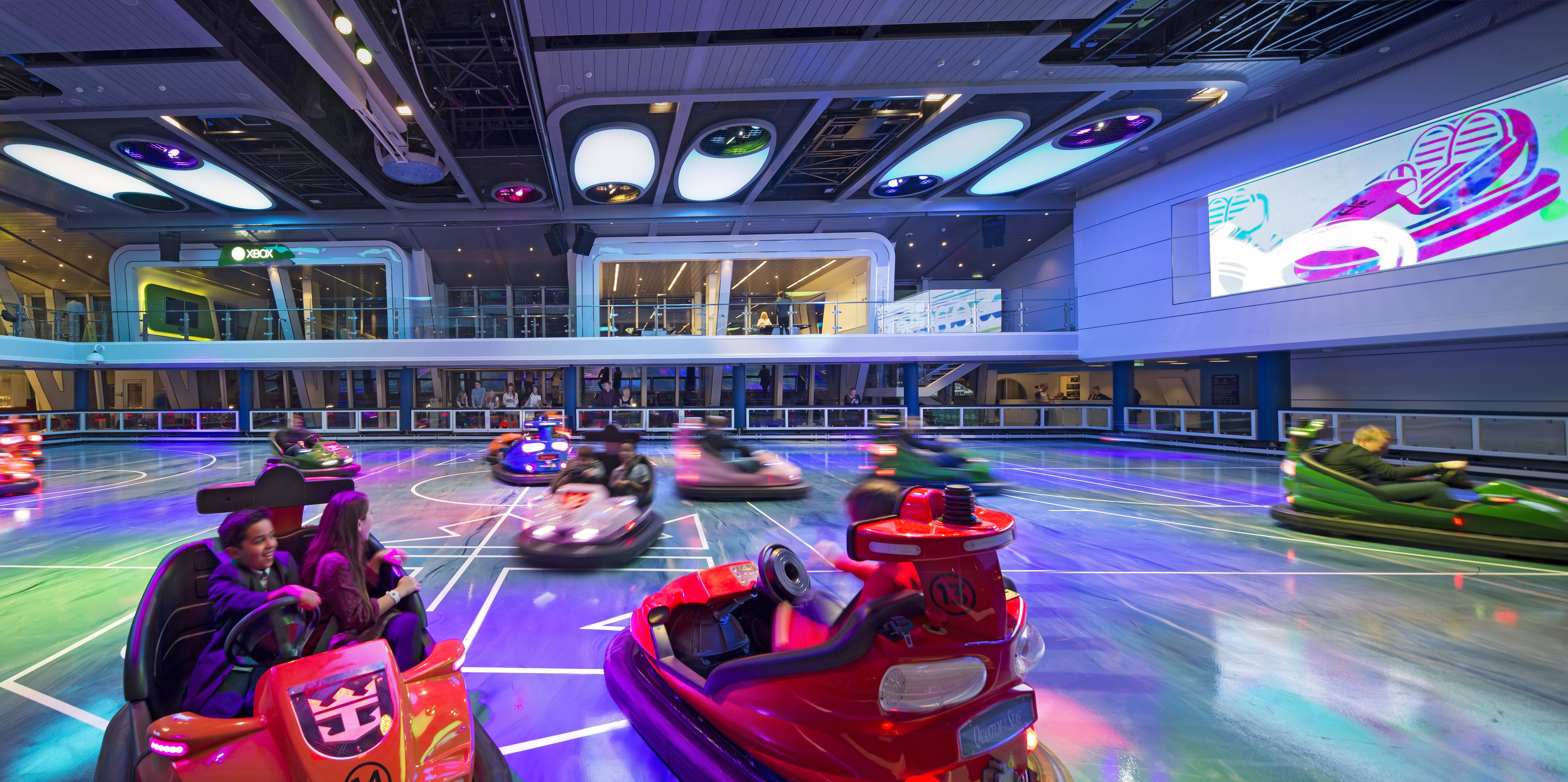 Bumper Cars on Royal Caribbean Cruises