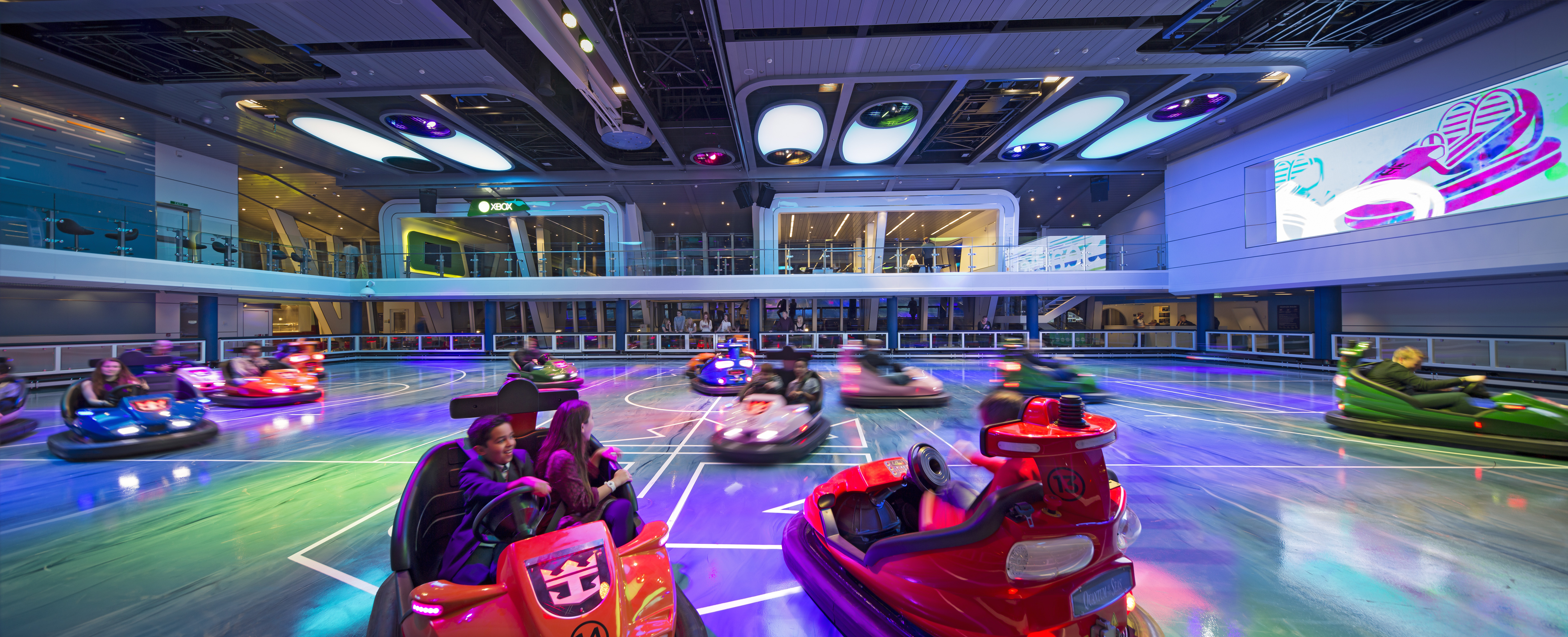 Bumper Cars on Royal Caribbean Cruises