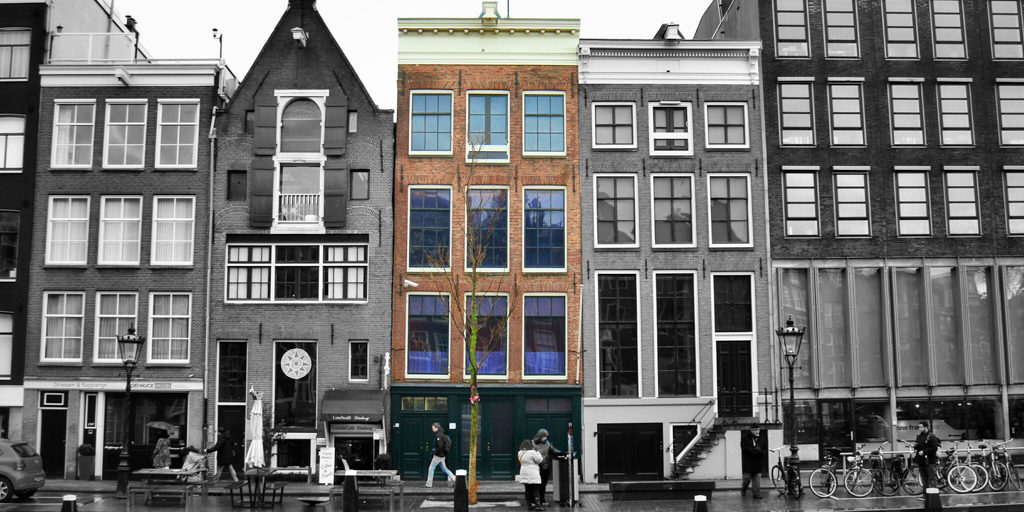 Anne Franks House in Amsterdam