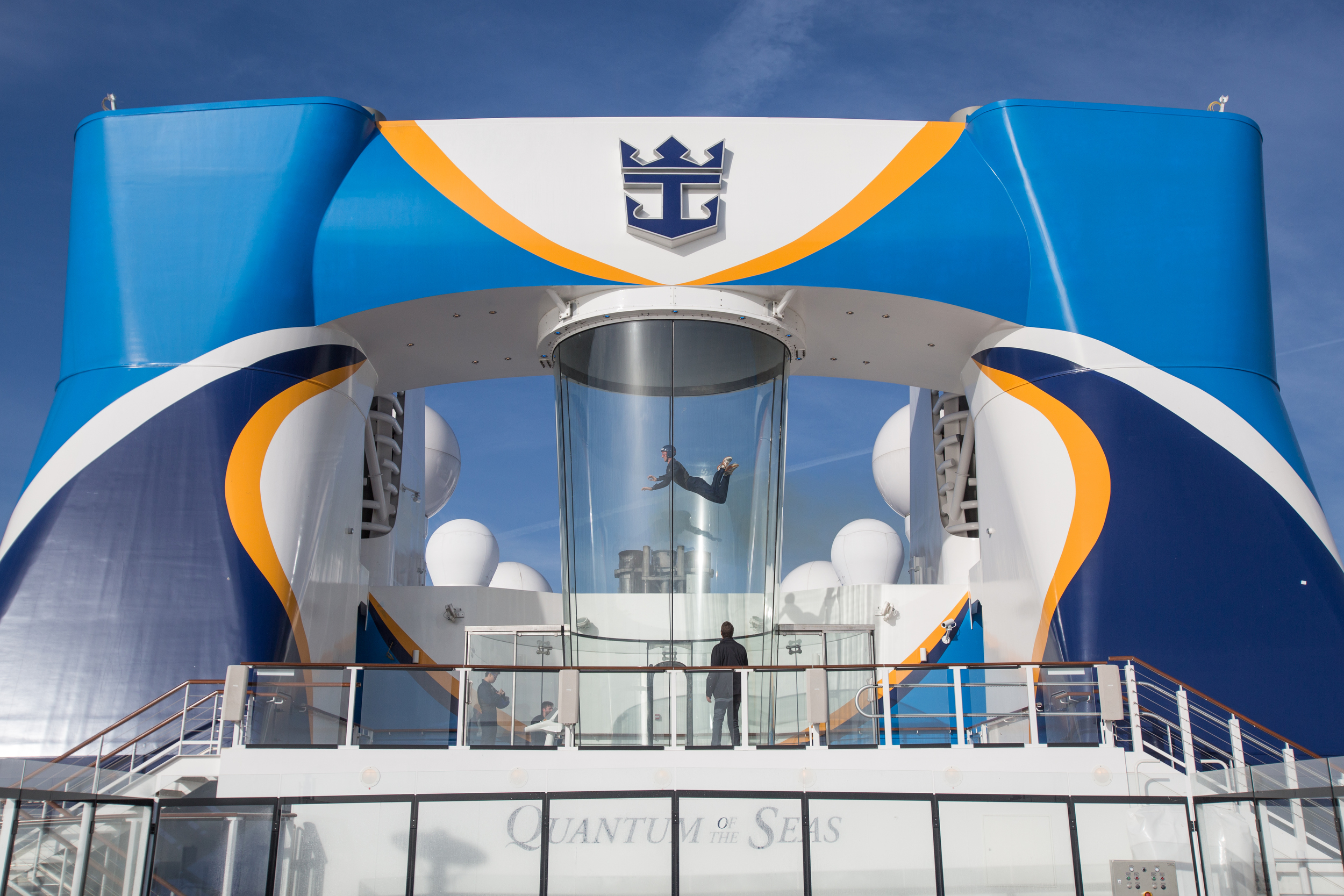 Royal Caribbean Ripcord by Iflyer skydiving simulator.
