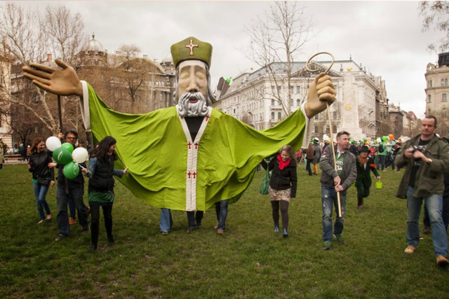 St. Patricks Day in Budapest