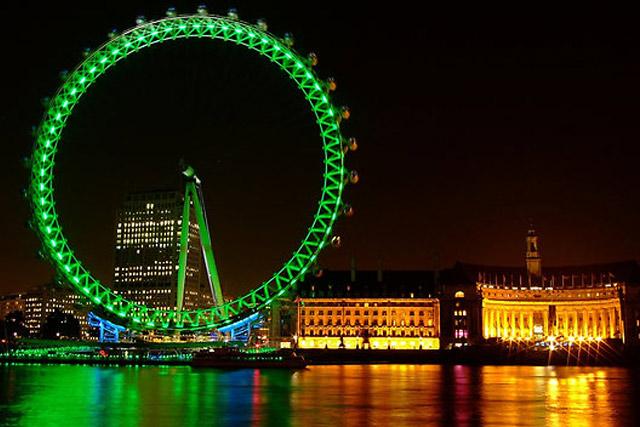 St. Patricks Day in London