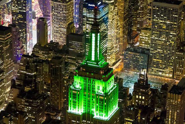 St. Patricks Day in New York