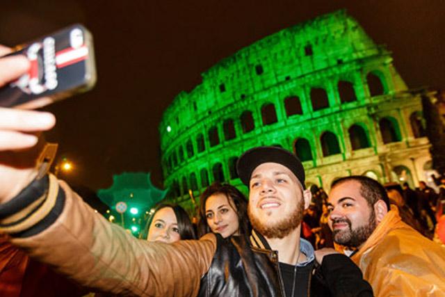 St. Patricks Day in Rome