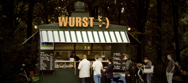 Wurst stand in Berlin
