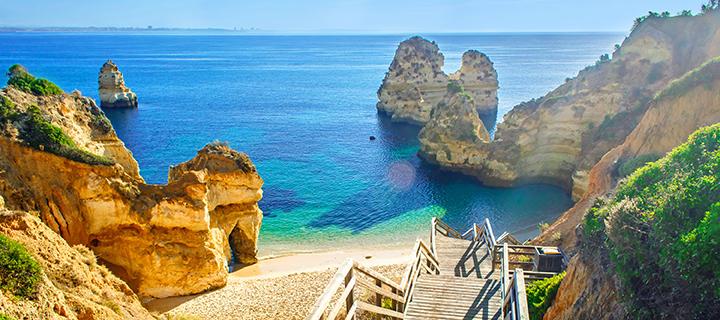 Albufeira in the Algarve - Family Sun Holiday Destination