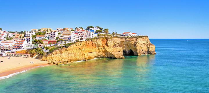 Carvoeiro in the Algarve - Family Sun Holiday Destination