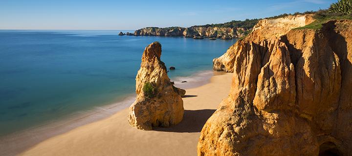 Praia do Vau in the Algarve - Family Sun Holiday Destination