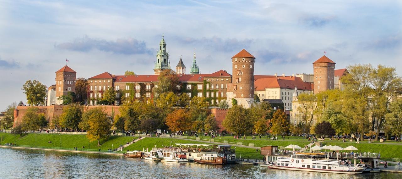 Royal Castle in Krakow, Poland