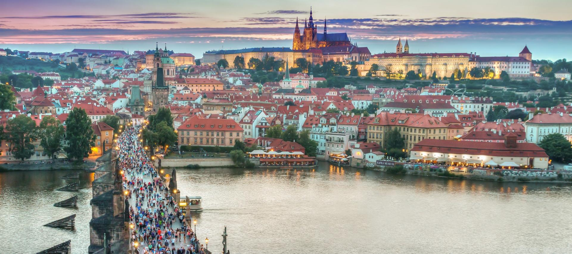 View of Prague from the Charles Bridge | Cheap City Breaks in 2018