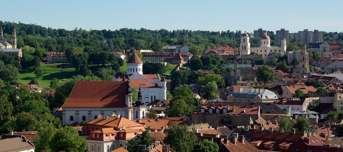 View of Vilnius and Cathedrals | Cheap City Breaks in 2018