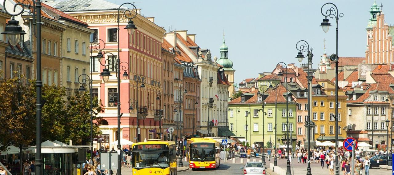 The Old Town in Warsaw, Poland | Cheap City Breaks in 2018