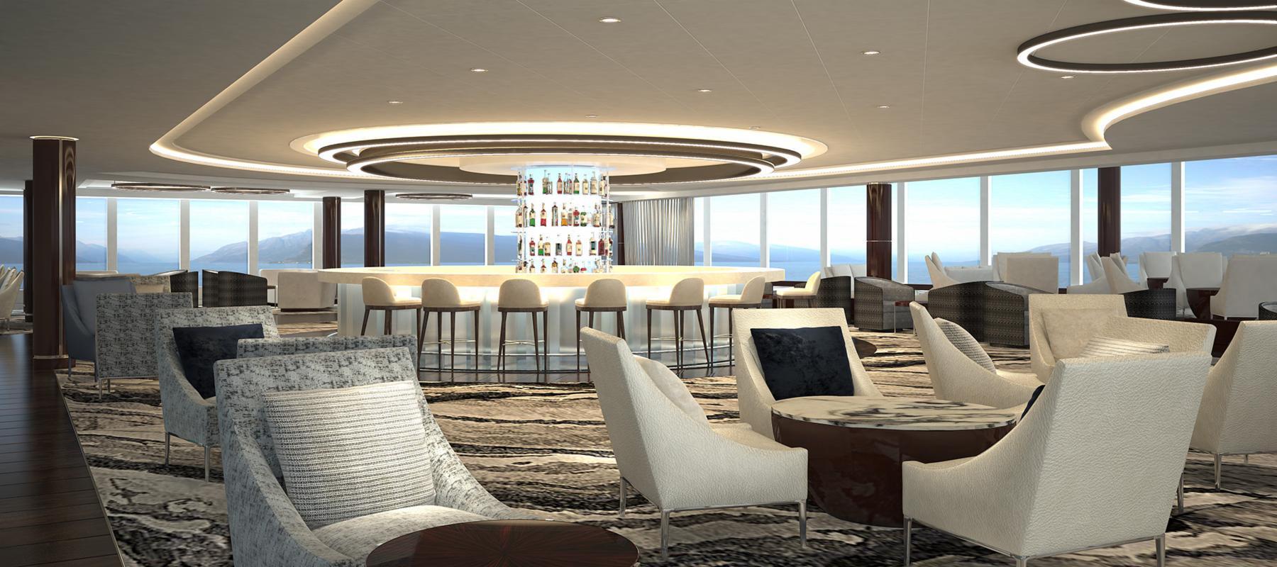 © Norwegian Cruise Line Bliss - Observation Lounge