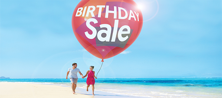 8th Birthday Sale