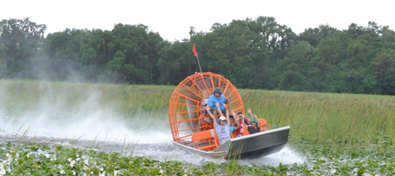 Boggy Creek Airboat Adventures Orlando