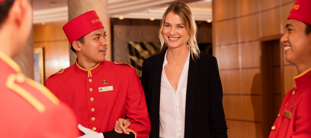 Cunard White Star Service | The Cunard Experience
