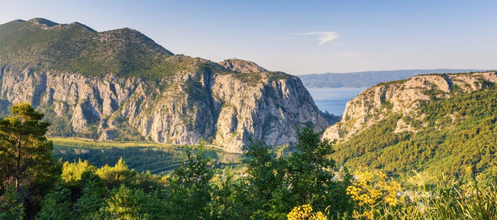 Dinaric Alps in Croatia