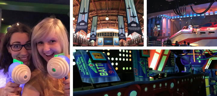 Star Wars and Buzz Lightyear in Discoveryland in Disneyland Paris | Your Guide to Disneyland Paris