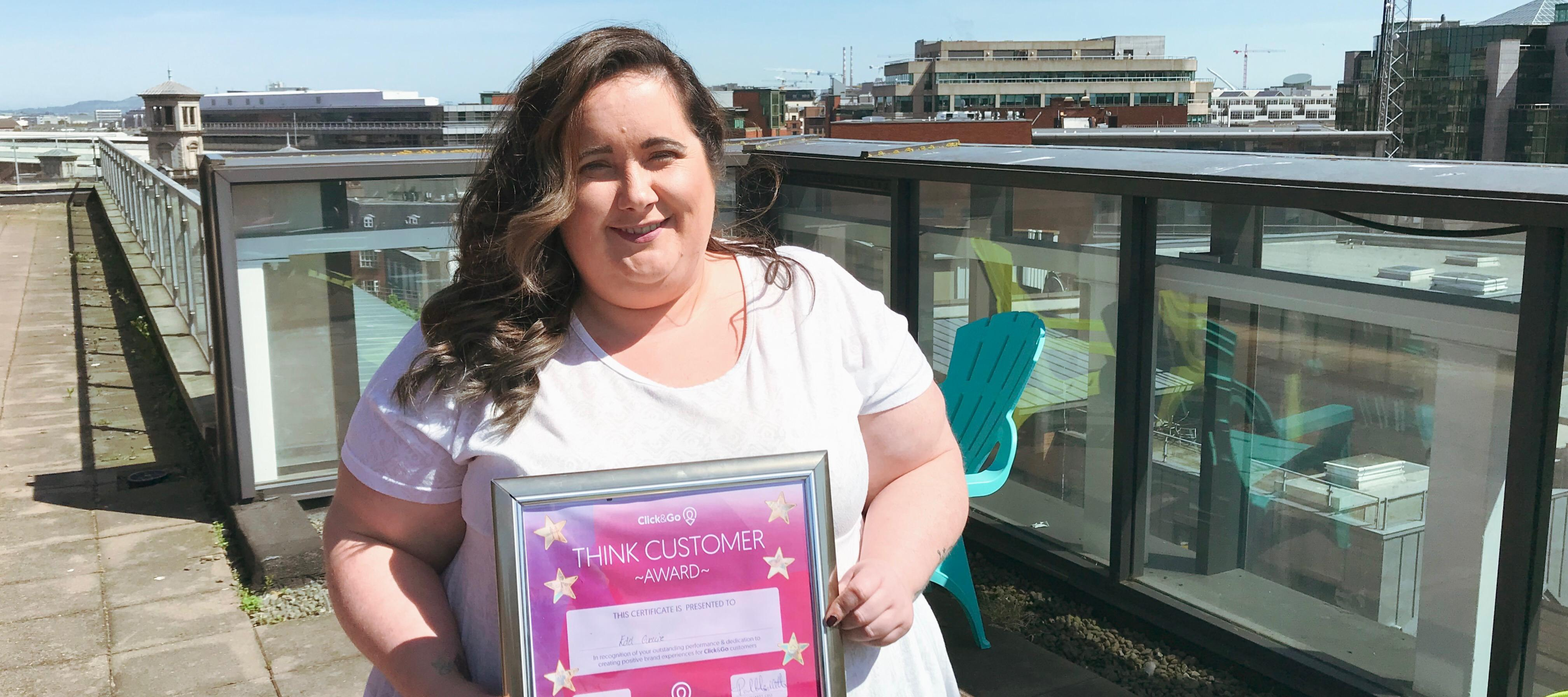 Edel - April's Think Customer Award Winner