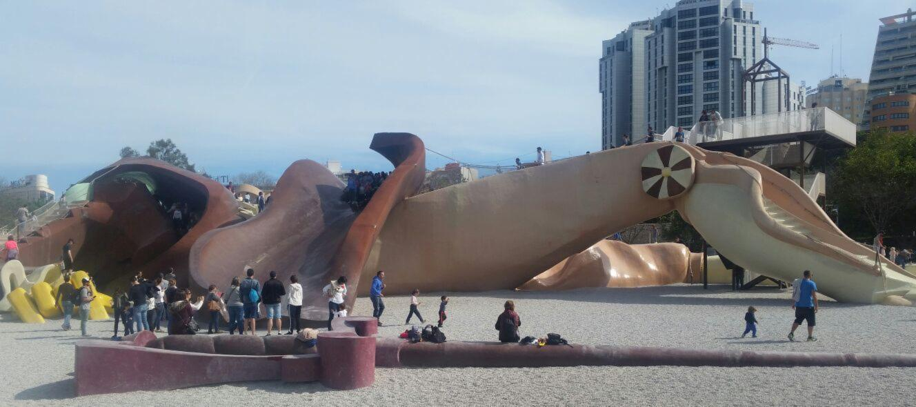 Gulliver's Park in Valencia