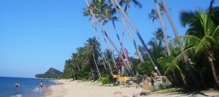 Choeng Mon Beach in Koh Samui, Thailand
