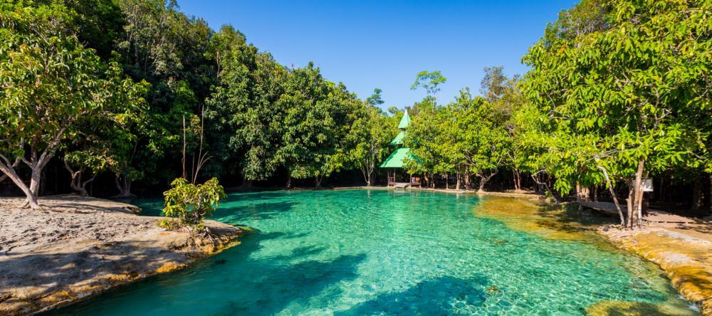Emerald Pool in Krabi, Thailand