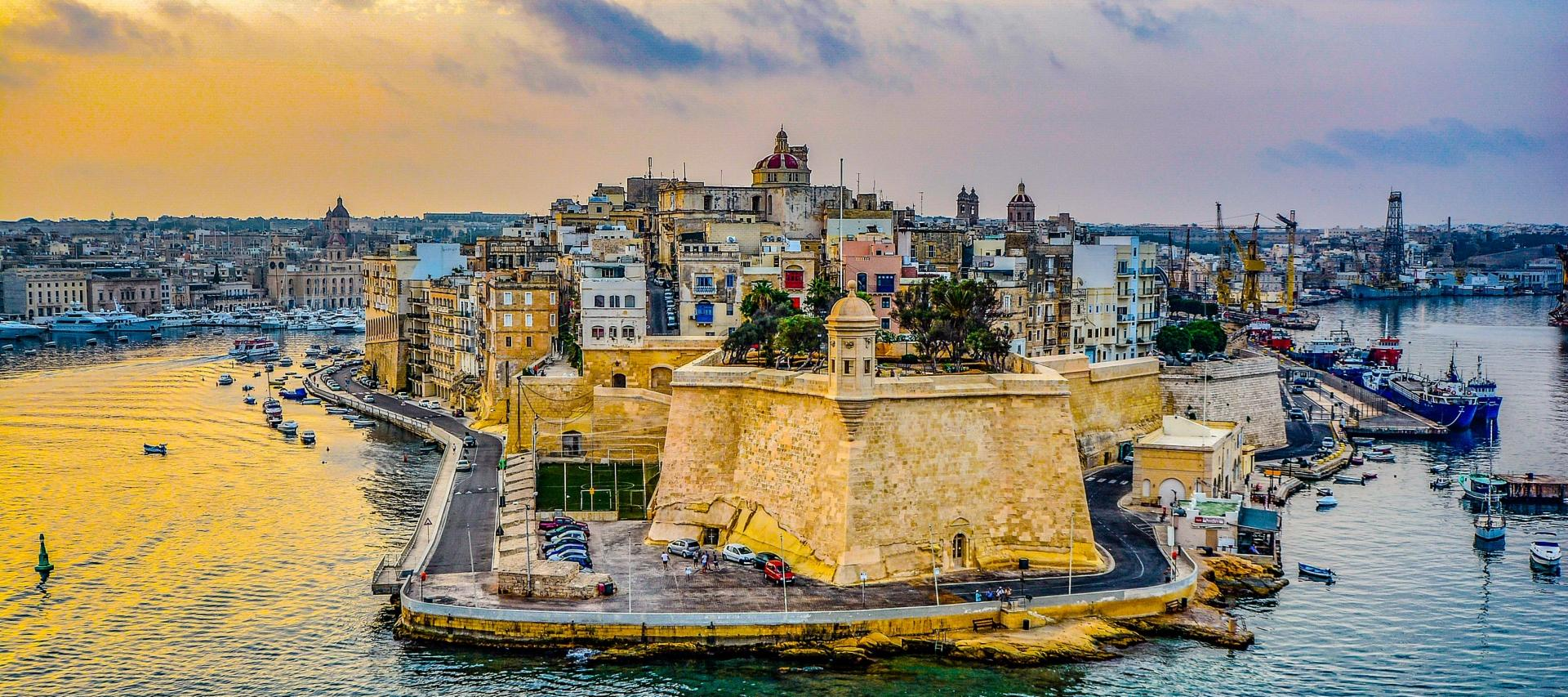 Harbour in Malta
