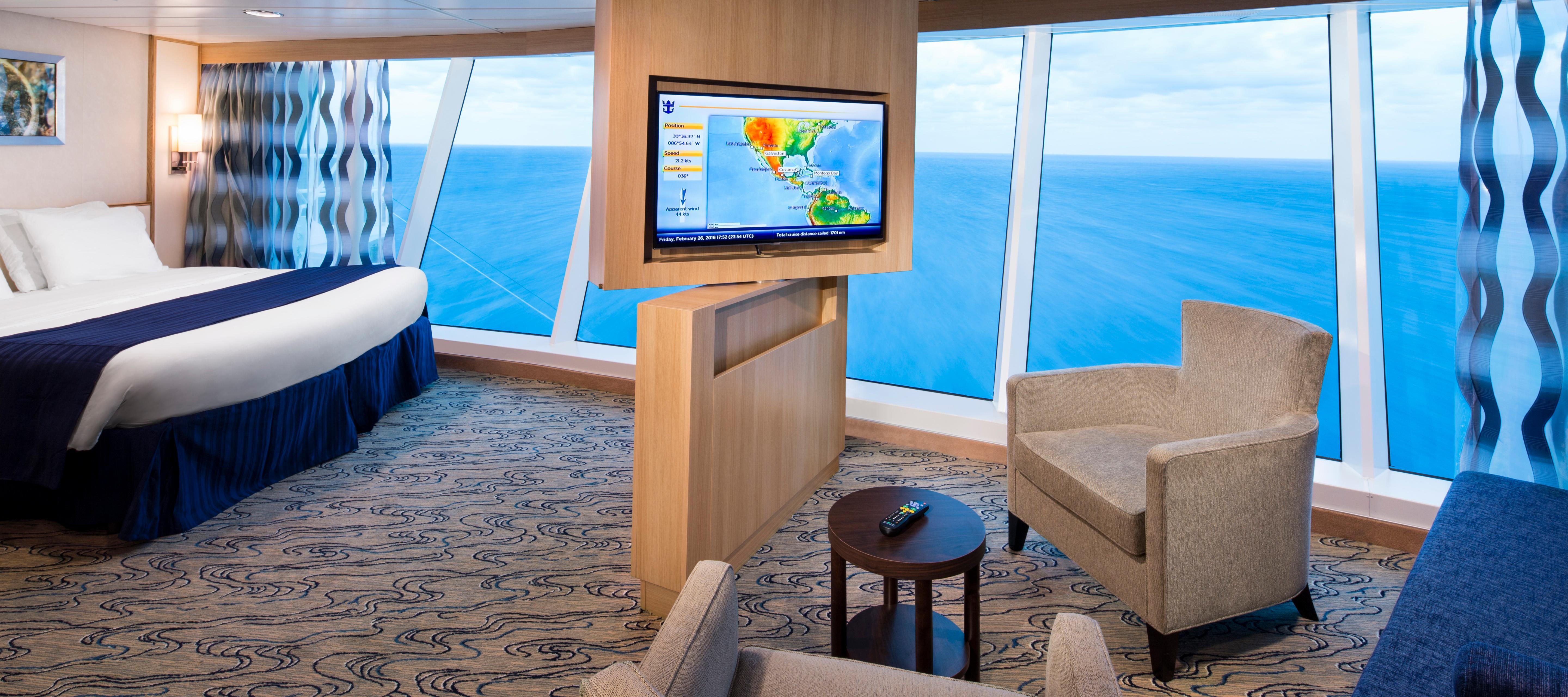 Panoramic State Room on Royal Caribbean's Independence of the Seas