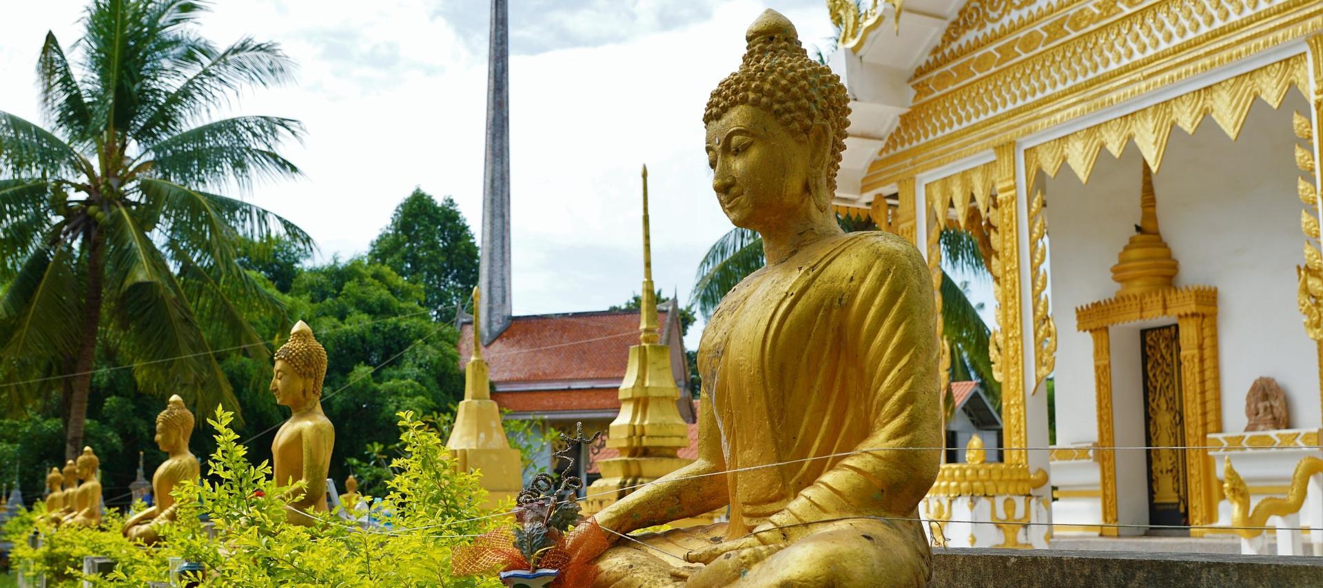 Buddhas in Koh Samui