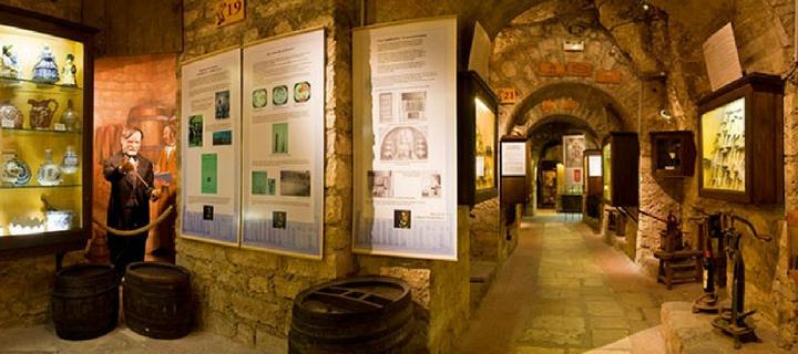 Cellars in Musée du Vin Paris