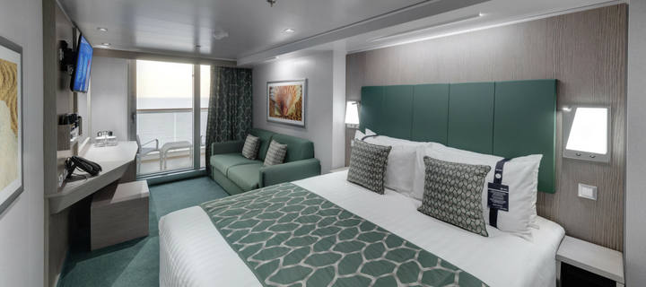 Balcony cabin on MSC Seaview
