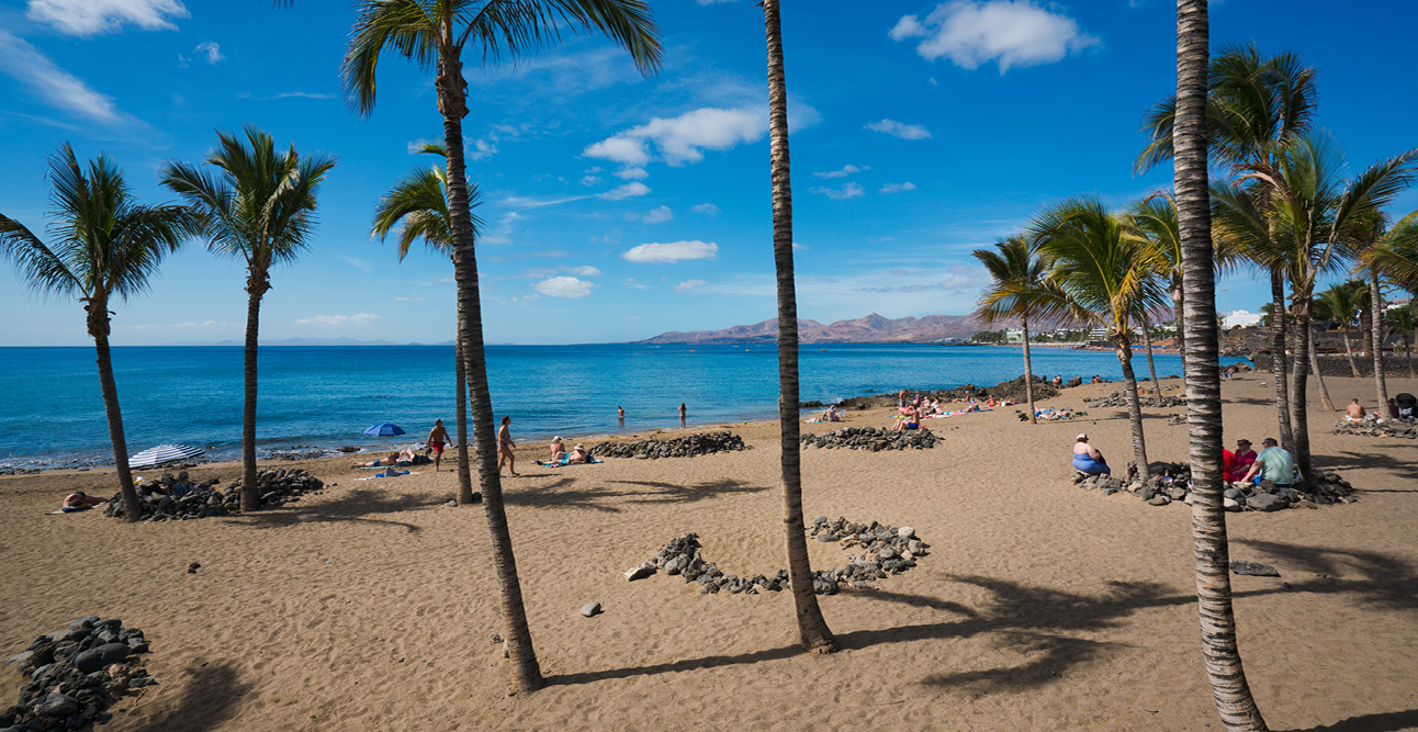 One of Lanzarote's beaches | 7 Reasons to Visit Lanzarote