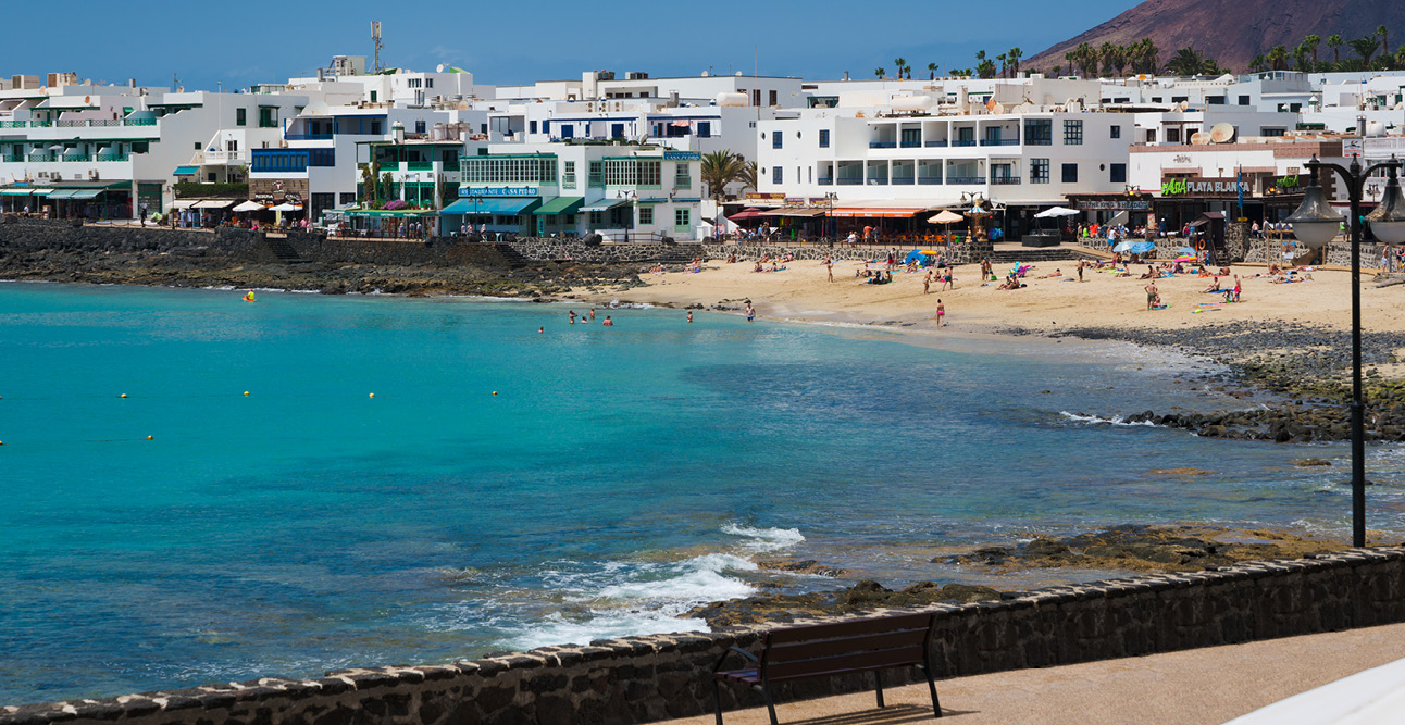 Low rise buildings in Lanzarote | 7 Reasons to Visit Lanzarote