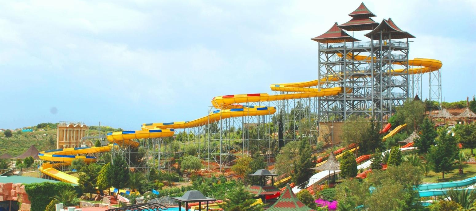Amazon slide in Adaland, Kusadasi, Turkey | Best day trips in Kusadasi
