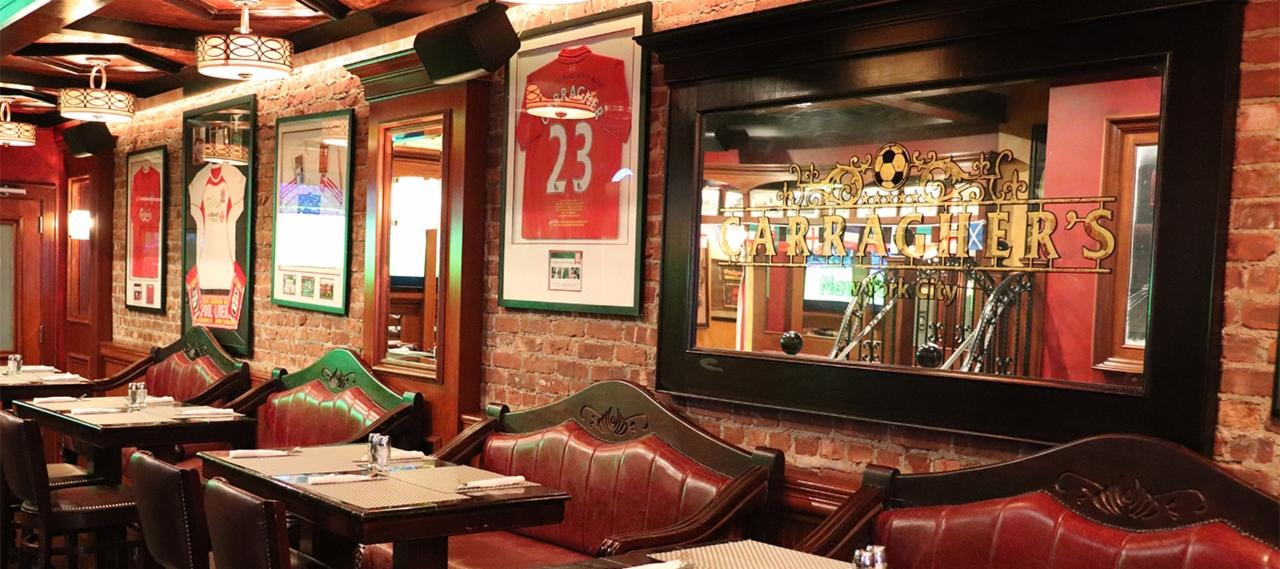 Carragher's Liverpool Themed Bar in NYC