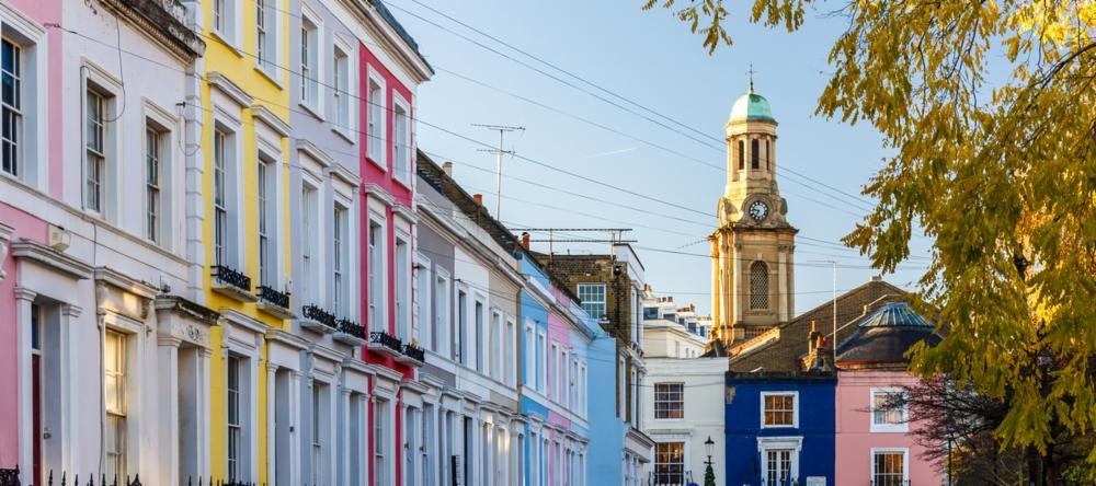 Portobello Road in Notting Hill in London | 6 Alternative Things to Do in London