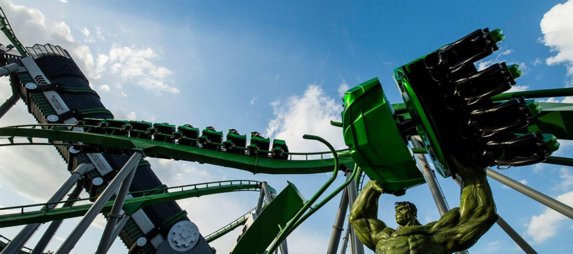 Hulk Coaster at Islands of Adventure in Universal Orlando | Your Guide to ~Universal Orlando