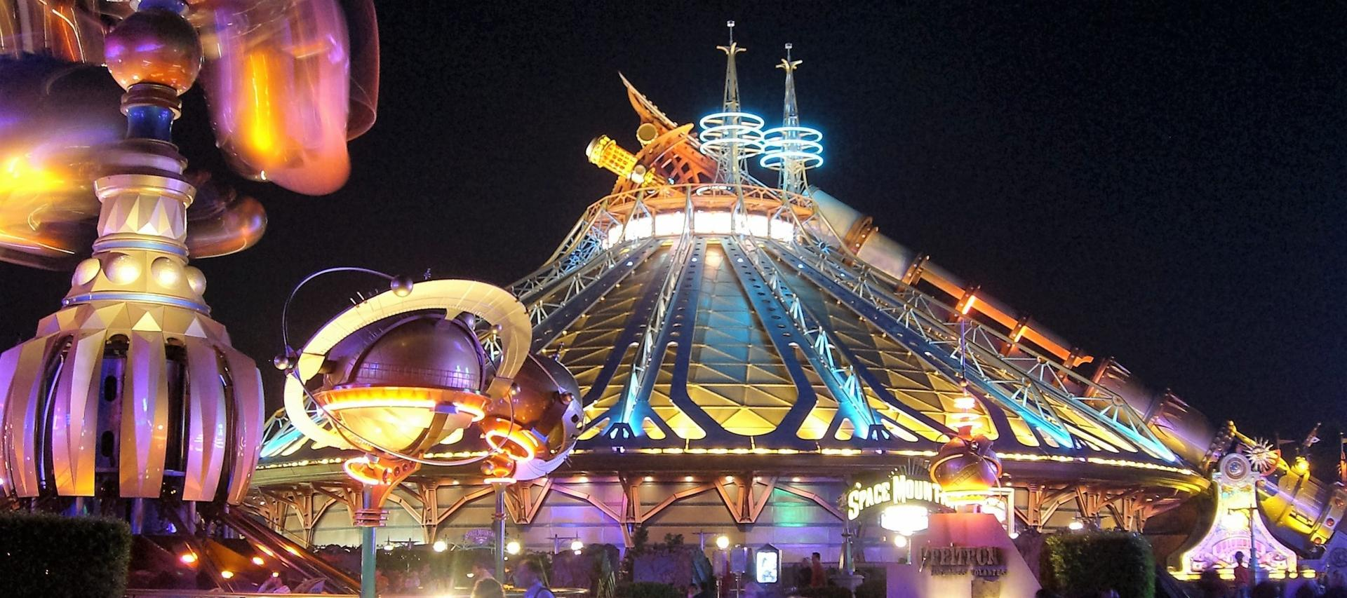 Hyperspace Attraction at Disneyland Paris