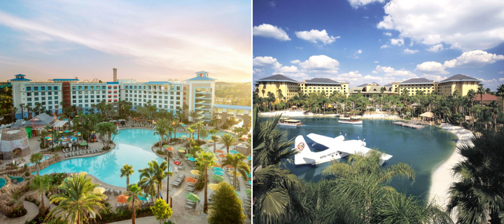 Loews Sapphire Falls and Royal Pacific Hotels in Universal Orlando | Your Guide to Universal Orlando