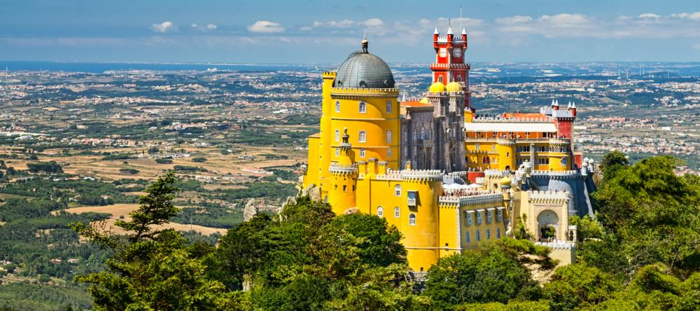 Pena Palace in Sintra - outside of Lisbon