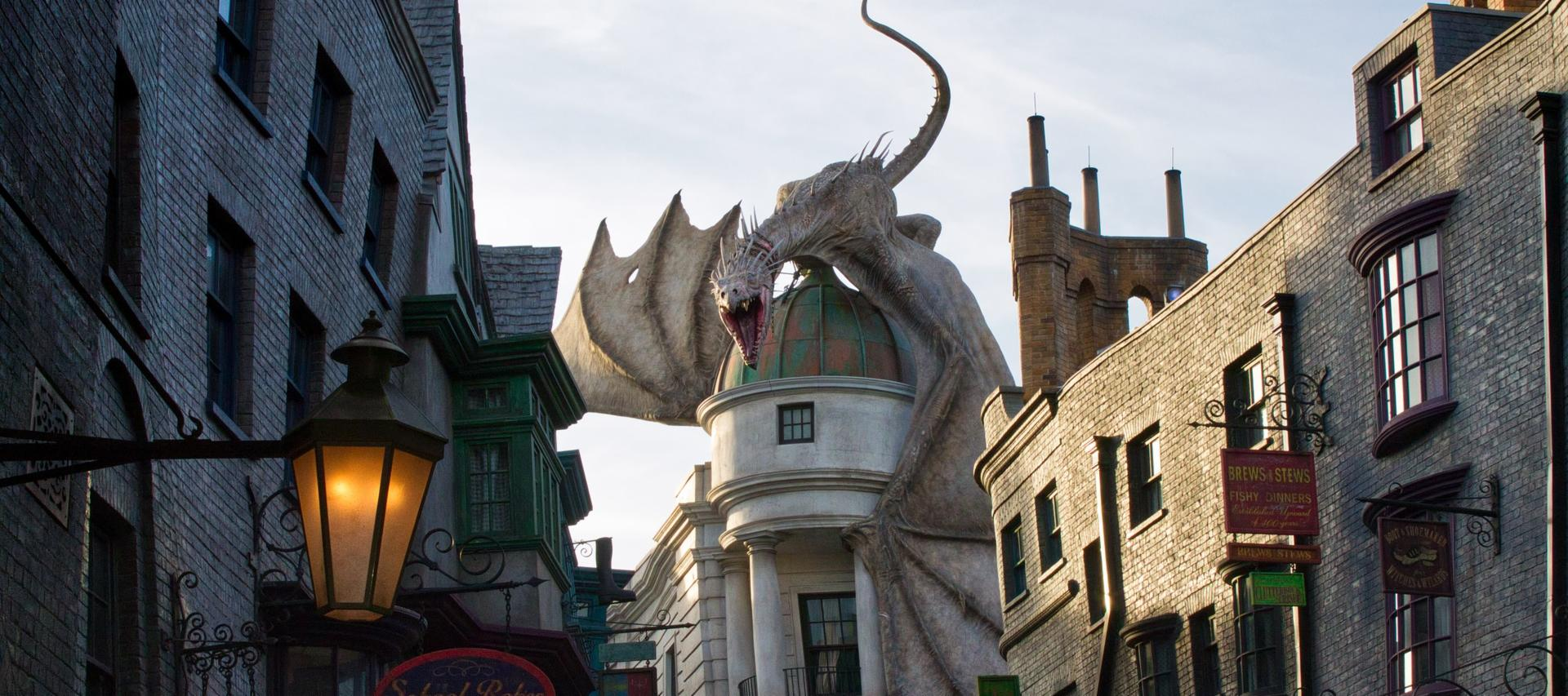 Diagon Alley at the Wizarding World of Harry Potter in Universal Orlando | Your Guide to Universal Orlando