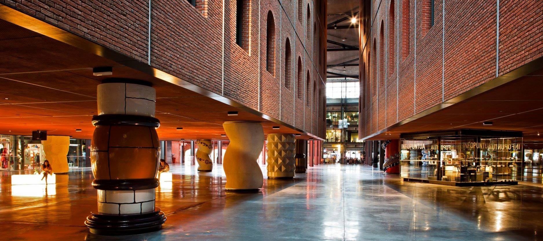 Azkuna Zentroa in Bilbao, Spain