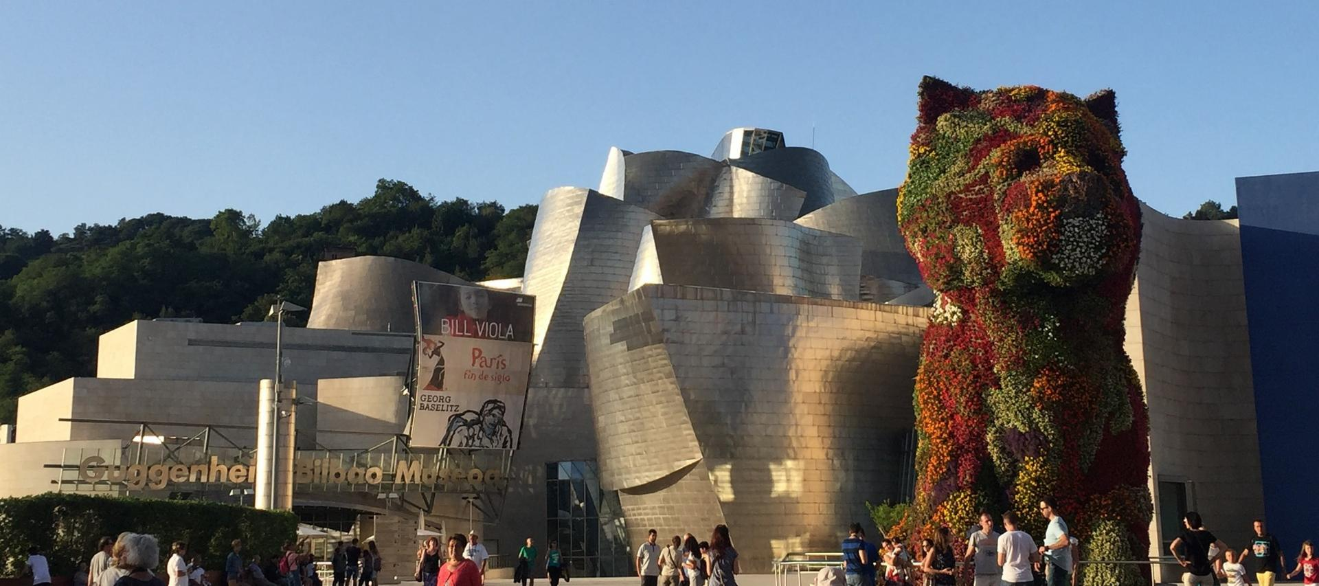 Guggeheim Museum in Bilbao, Spain