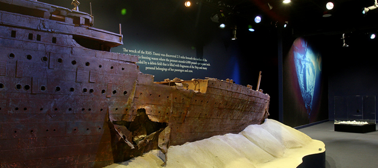 Orlando's Titanic Artifacts Exhibition