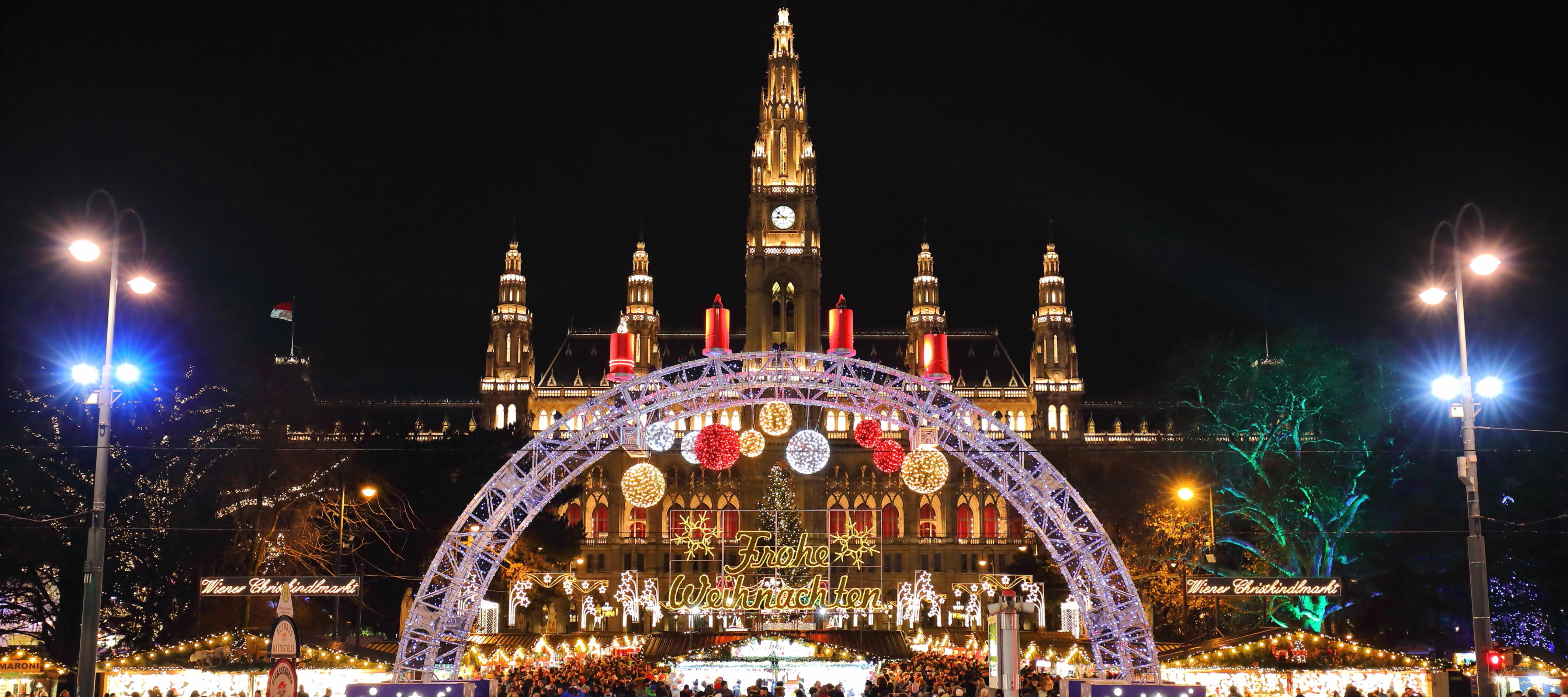Vienna Christmas Market.Top 6 Christmas Markets In Vienna Click Go
