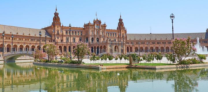 Plaza España in Seville